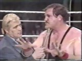 PAT PATTERSON INTERVIEWS SGT SLAUGHTER ON WWF TV, FEB 1981