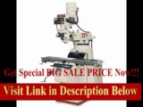 [BEST PRICE] JET JTM-1050EVS/230, Mill with 3-axis ACU-RITE 200S DRO (Knee) and X and Y Powerfeed Installed