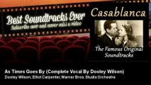 Dooley Wilson, Elliot Carpenter, Warner Bros. Studio Orchestra - As Times Goes By