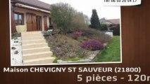 A vendre maison - CHEVIGNY ST SAUVEUR (21800) - 120m² - 287 000€