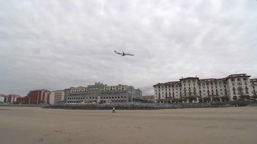 Hendaye: Vol au dessus d'un nid de surfers - Euskadi Surf TV