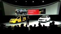 Nissan Debuts 2014 Pathfinder Hybrid, NV200 Mobility Taxi at New York International Auto Show 2013