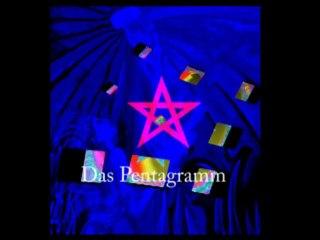 Pentagramm, Schutzzeichen, Abwehrzeichen, magisches Symbol,  www.weisse-Magie.com