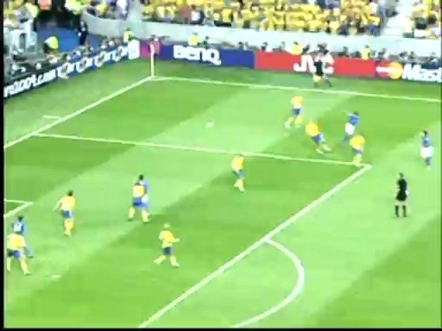 2004 (June 18) Italy 1-Sweden 1 (European Championship)