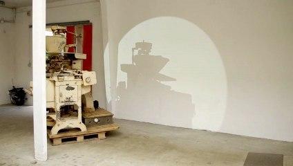 """Höller - installation @ """"au lieu de"""" à la Ville en Bois à Nantes (avril 2013) - Thomas Daveluy"""