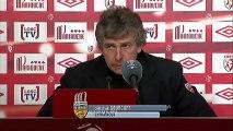 Conférence de presse LOSC Lille - FC Lorient : Rudi GARCIA (LOSC) - Christian  GOURCUFF (FCL) - saison 2012/2013