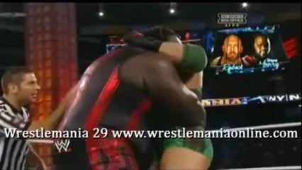Wrestlemania 29 Mark Hendry vs Ryback full match video