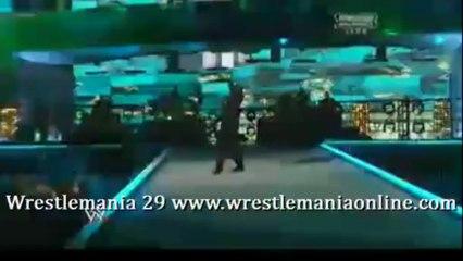 Wrestlemania 29 P. Diddy performance feat Skylar Grey video