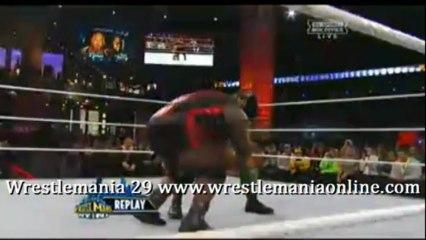 Wrestlemania 29 Ryback Shell Shock Mark Hendry77.mp4