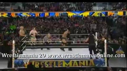 Wrestlemania 29 Shield vs Sheamus Show and Orton full match video