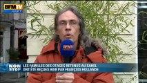"""Alain Legrand, père d'un des otages au Sahel: """"un otage oublié est un otage mort"""" - 07/04"""
