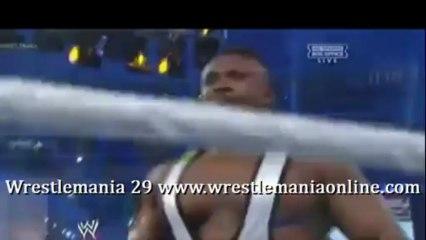 Wrestlemania 29 Langston and Ziggler vs Team Hell No Full match video
