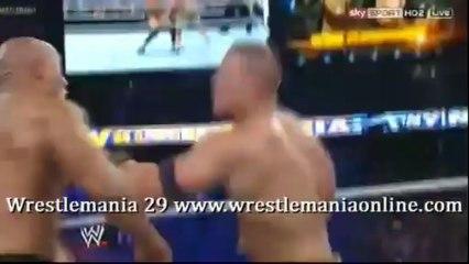 Wrestlemania 29 The Rock Rock Bottom on Cena video