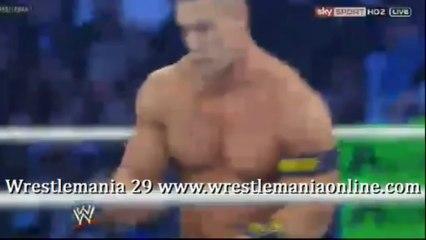 Wrestlemania 29 The Rock vs John Cena full match video
