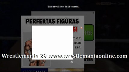Wrestlemania 29 Triple H breaks Lesnar arm video