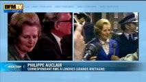"""Décès de Margaret Thatcher: """"Elle laisse un héritage controversé"""""""