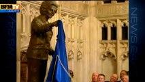 Quand Thatcher inaugurait sa statue à la Chambre des communes - 08/04