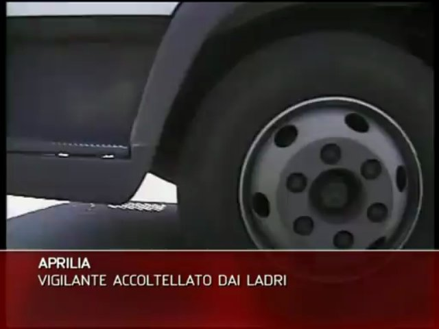APRILIA, VIGILANTES AGGREDITO