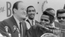 James Brown. Interviews about Hubert Humphrey and the Black Panthers. from James Brown: Black Panthers