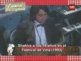 Shakira en Chile. Festival de Viña 1993