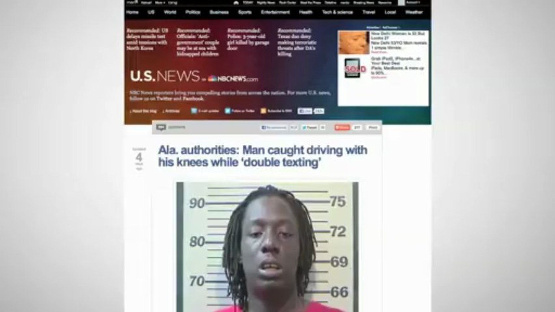 Man Caught Double Texting