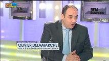 Olivier Delamarche: Marché de l'emploi US: les chiffres sont truqués, Intégrale Placements  -9 avril