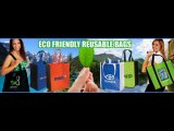 Eco Friendly Reusable Shopping and Grocery Bags