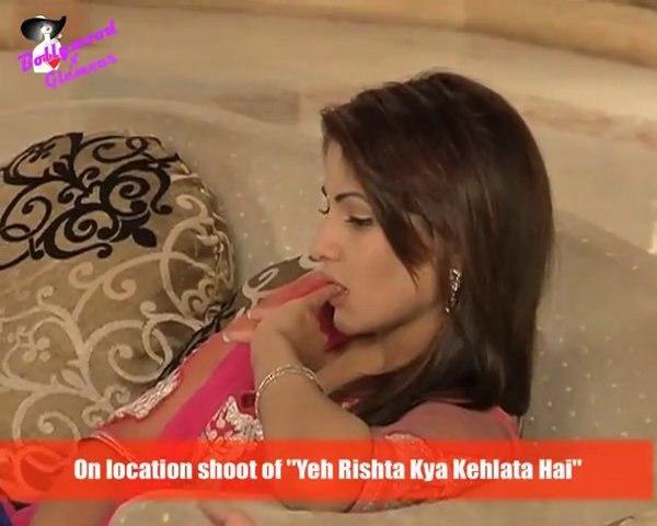 On location shoot of ''Yeh Rishta Kya Kehlata Hai''