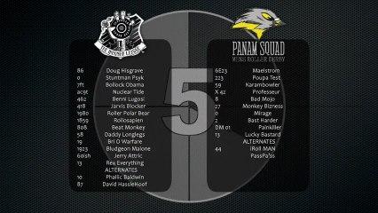 The Inhuman League vs Panam Squad 1st Half