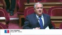 Alain Gournac, Sénateur des Yvelines : Interdiction des feux de cheminée