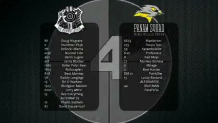 The Inhuman League vs Panam Squad 2nd Half