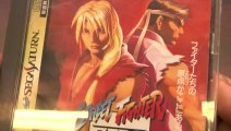 Classic Game Room - STREET FIGHTER ZERO review for Sega Saturn