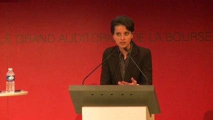 Conférence Plafond de Verre - Discours de la ministre Najat Vallaud-Belkacem