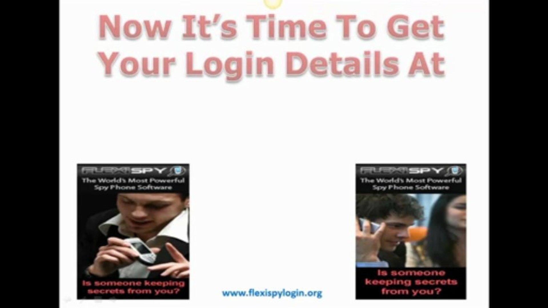 Flexispy Login - How To Get Flexispy Login Details