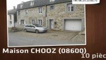 A vendre - maison - CHOOZ (08600) - 10 pièces