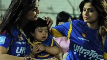 First Look Of Shilpa Shetty's Son Viaan Raj Kundra At IPL 6 Match