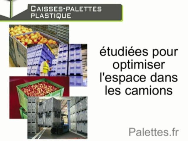 Les caisses-palettes plastique - Sécurité et économie / Europ Stocks Services - Palettes.fr