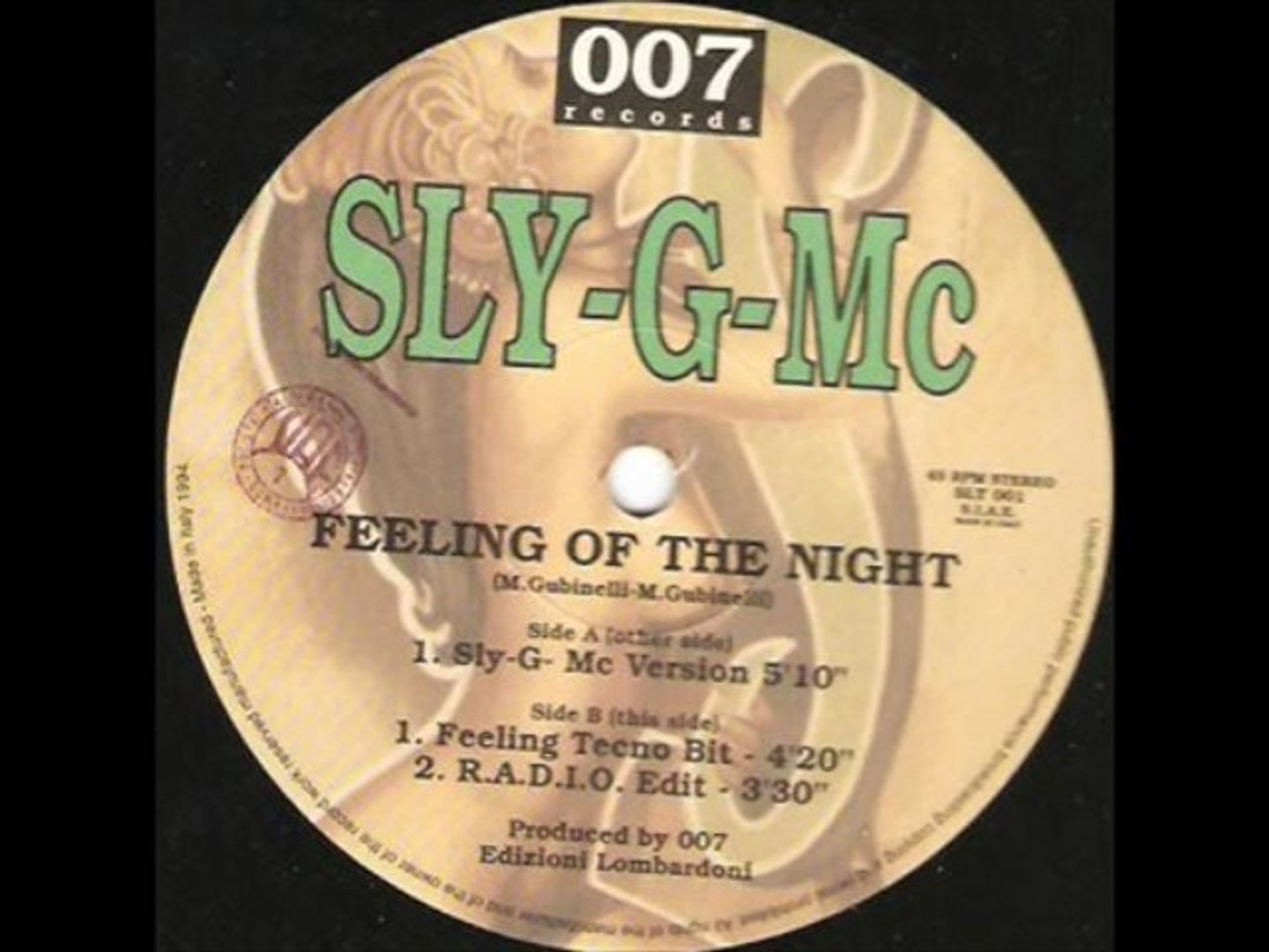 Sly-G-MC - Feeling Of The Night (Feeling Tecno Bit)