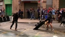 Clashes erupt in Chile during student protest