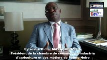 ITW : POINTE NOIRE BOUGE !  PRESIDENT DE LA CHAMBRE DE COMMERCE DE POINTE NOIRE MONSIEUR SYLVESTRE DIDIER MAVOUENZELA
