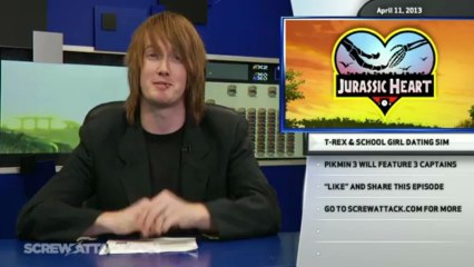 Pikmin 3 has 3 Captains, Adam Orth Leaves Microsoft, and a T-Rex That Can Play a Ukulele - Hard News Clip