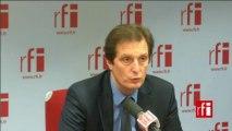 Jérôme Chartier, secrétaire national de l'UMP chargé de la fiscalité et des finances publiques, porte-parole de François Fillon