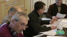 1 - Saint-Pierre du Vauvray, Présentation du budget primitif et huis clos à la première question