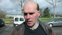 Les agriculteurs du Douaisis revendiquent à la sous-préfecture de Douai