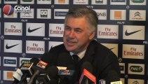 Conférence de presse de Carlo Ancelotti avant Troyes-PSG