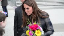 Duchess of Cambridge Kate Middleton Watches Kardashians