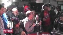 Les membres de la Radio Libre viennent saluer Alibi Montana et Lim dans Planète Rap.