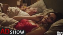 Horny stars: Cindy Crawford in bed with George Clooney