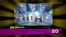 Recap of all the songs from the Eurovision 2006 Final