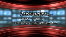 Miami Heat versus Chicago Bulls Pick Prediction NBA Pro Basketball Lines Odds Preview 4-14-2013